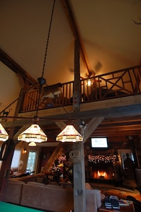 View of loft above
