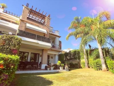 Los Arqueros Golf & Country Club Family Friendly Garden Apartment Pool Marbella
