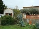 La terrasse et le studio à côté