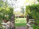 entrance to estate grounds