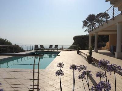 Terrasses piscine