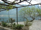 View across to the fiord from the fig tree terrace - ideal for sunbathing!