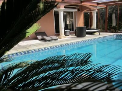 piscine 9m sur 4m50 chauffee