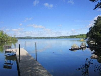 40 foot dock for boating, fishing and swimming