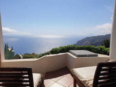 Monte Gallina, Lipari, Sicile, Italie