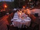 Dine under the stars on multiple dining decks.