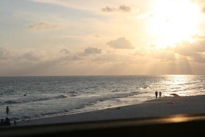 Enjoy sunset on the Beach