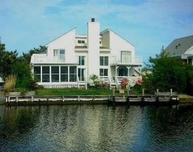 Fabulous Canal-front Home with Multiple Decks & Porches, Dock, Boat Ramp