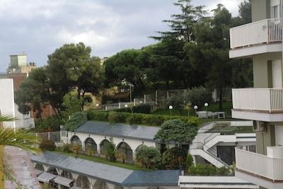 penthouse de luxe avec grande terrasse à 300m de la mer