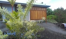 Garden entrance to the Cottage - now screened from view