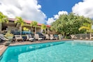 maison de vacances avec piscine