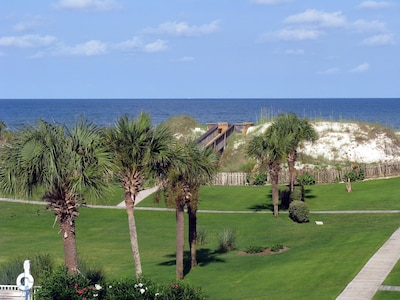 Gulf view from the 3rd floor screened porch