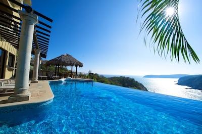 Oceanfront Infinity Pool