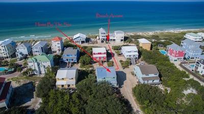 Home By The Sea-100 feet to beach!