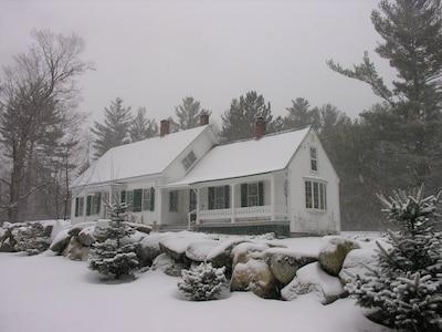 Gentle snow storm