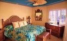 MASTER BEDROOM with Ocean View and very comfy bed.