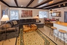 Open floor plan for family and friend to gather.