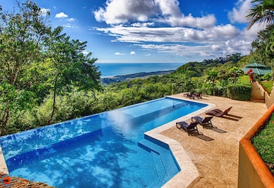 Stunning Pacific Ocean views from your own private 14 Acre Villa!