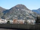 Blick auf Monte Bré von Lugano mit Lage Al Bosco