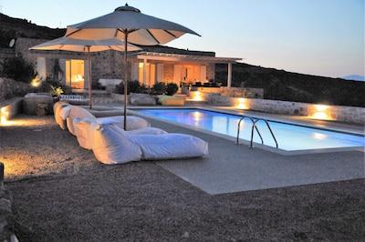 The pool at dawn