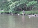 Fly Fishing :) 100 Yards off of The Famous Penns Creek!!   Green Drake!!
