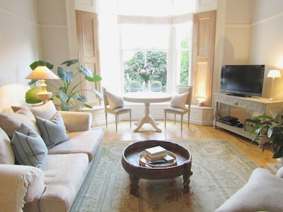 Dining Table in Bay Window