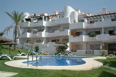 Privado piscina comunitaria