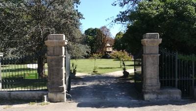 Portail d'entrée parc