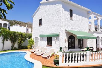 El Capistrano, Nerja, Andalusia, Spain