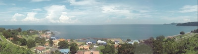 Mountain side view of our Modern San Marino Ocean Front Gated Community