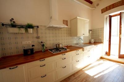 La cucina - zona di lavoro