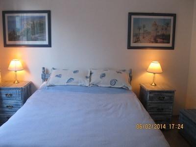 Double Room Blue Bedroom