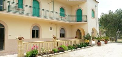 Abbey of Santa Maria di Kalena, Peschici, Puglia, Italy