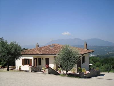 FRONT VIEW OF THE VILLA