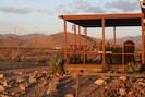 Hummingbird Ranch has 3 decks to enjoy and watch the desert changing colors. :))