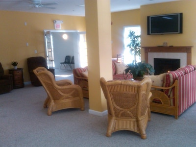 Sitting area in Clubhouse