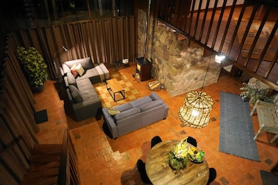 The Brown House Lounge area