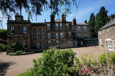 East view of Stretton House