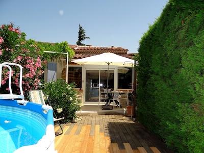 Duplex 4 Personen im Herzen der Provence