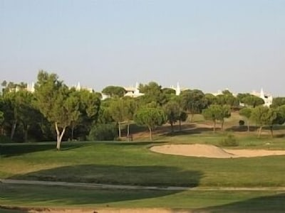 View of villa from the golf course