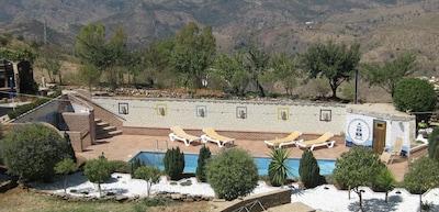 Apartamento en las montañas de Málaga, 2 personas