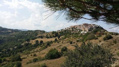 San Costantino Albanese, Basilikata, Italien
