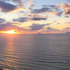 Uitkijkpunt van Piraino, Piraino, Sicilië, Italië