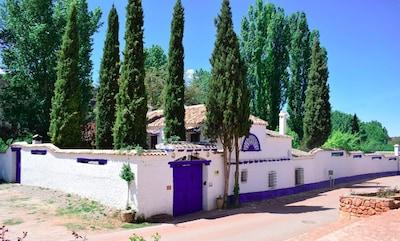 Casa rural (alquiler íntegro) Venta del Celemin para 10 personas