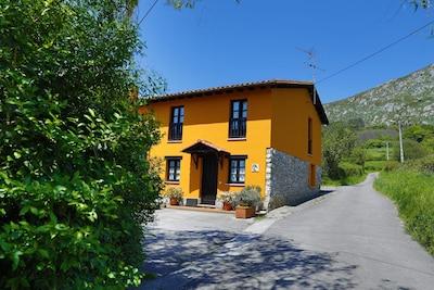 Ordiales, San Martín del Rey Aurelio, Asturias, Spanien
