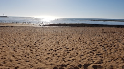 Plage de Témara, Harhoura, Rabat-Salé-Kénitra, Maroc