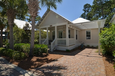 Pull right in to your home with attached carport and paver driveway