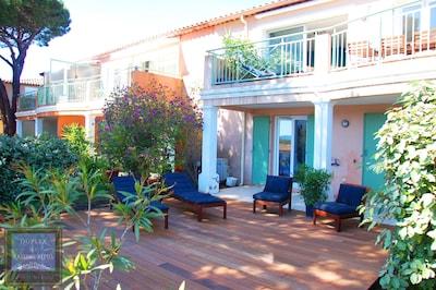 Maison en duplex, côté sud, jardin privé de 49 m2