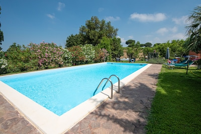 Poggio Oleandri:  house with gorgeous Pool and beautiful garden