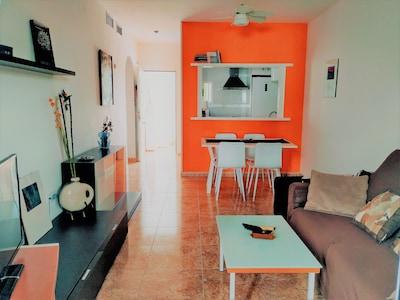 Moderno Apartamento Vera Playa: Wifi+Terrazas